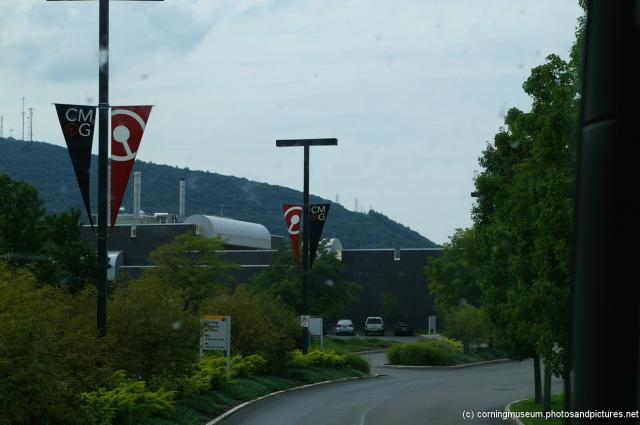 Arriving at Corning Museum of Glass.jpg