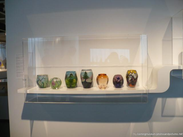 Various glass art at Corning Glass Museum.jpg