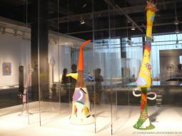 Colorful art sculpture statues at Corning Museum of Glass.jpg