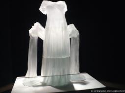Floating white dress and sash glass art at Corning Museum of Glass.jpg