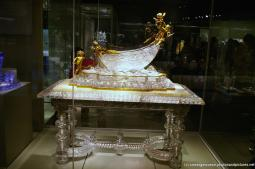Grand crystal boat art at Christina Bothwell's While You Are Sleeping at Corning Museum of Glass.jpg