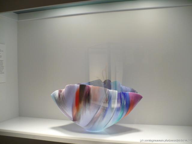 Colorful glass bowl art at Corning Museum of Glass.jpg