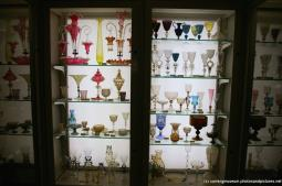 Glassware inside the Jerome and Lucille Strauss Study Gallery at Corning Museum of Glass.jpg