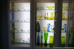 Glass art inside the Jerome and Lucille Strauss Study Gallery at Corning Museum of Glass.jpg