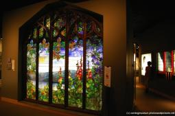 Stained glass wall panel at International Studio glass art works at Corning Museum of Glass.jpg