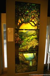 Louis Comfort Tiffany glass panel at Corning Glass Museum.jpg